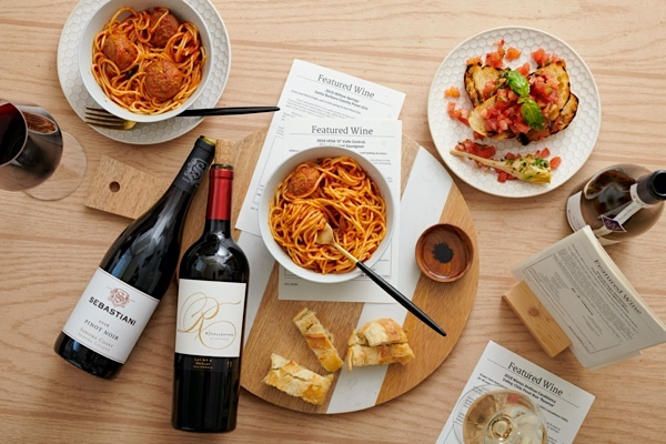With each monthly shipment, American will send tasting notes and food pairing suggestions.