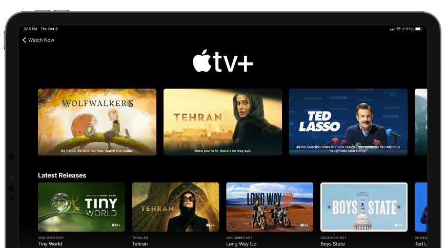 Apple TV+ extends free trial period until July 2021.