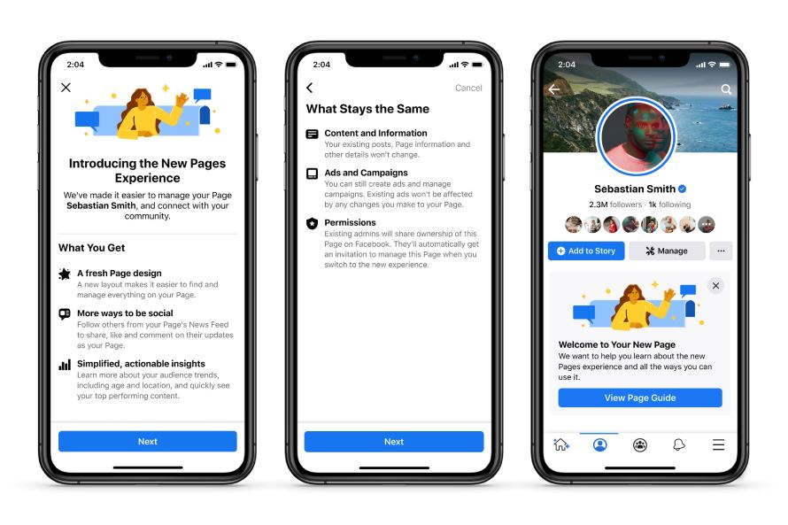 Facebook is rolling out a new design of Facebook Pages, which will include the elimination of the Like button.