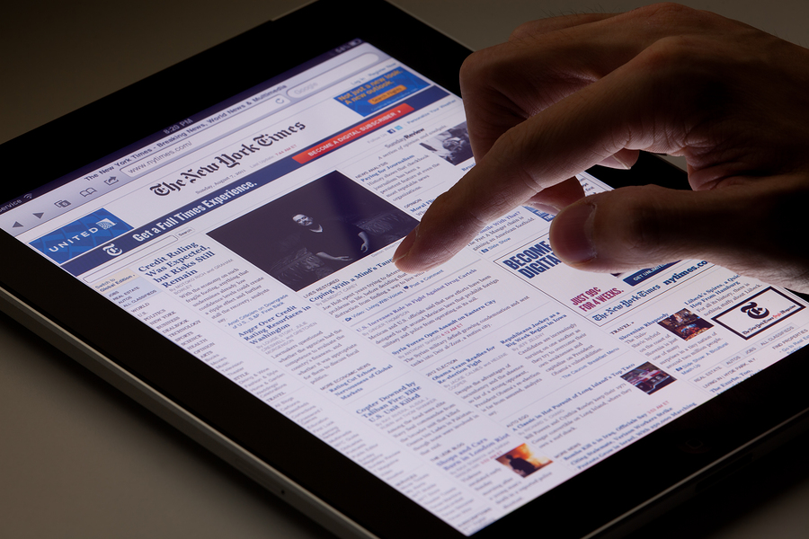 Top 10 subscription news sites in the world