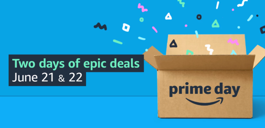 """Prime Day 2021 will be June 21-22 this year, featuring two days of """"epic deals."""""""